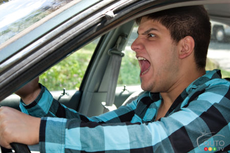 Road rage expressed by 8 out of 10 drivers