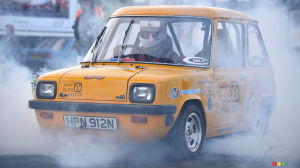 EV speed record broken by British city car from the '70s
