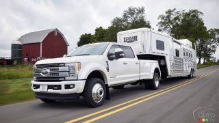 All-new 2017 Ford F-Series Super Duty trucks ready to roar