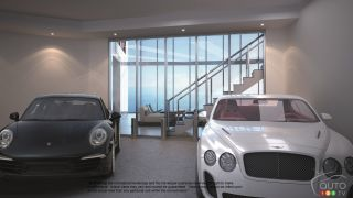 Porsche Design Tower lets you bring your car home… 60 stories high!