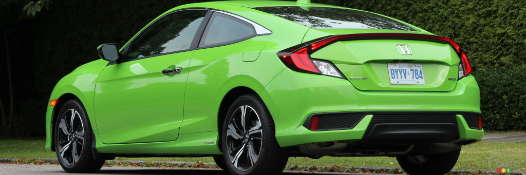 2016 Honda Civic Coupe Touring Review