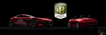 Deux gagnants Mazda au Automotive Brand Contest