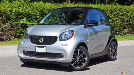 2016 smart fortwo passion Review