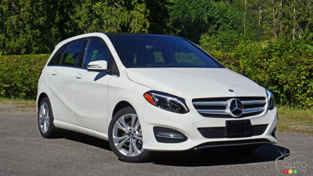 2016 Mercedes-Benz B-Class 4MATIC Review