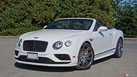 Bentley Continental GT Speed Cabriolet 2016 : essai routier