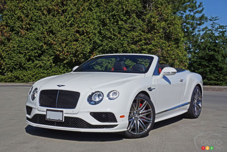 2016 Bentley Continental GT Speed Convertible Review
