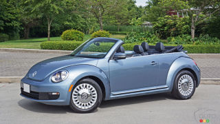 Volkswagen Beetle Denim décapotable 2016 : essai routier