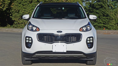 2017 Kia Sportage SX Review