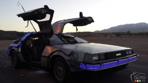 "Signed DeLorean from ""Back to the Future"" for sale on eBay"