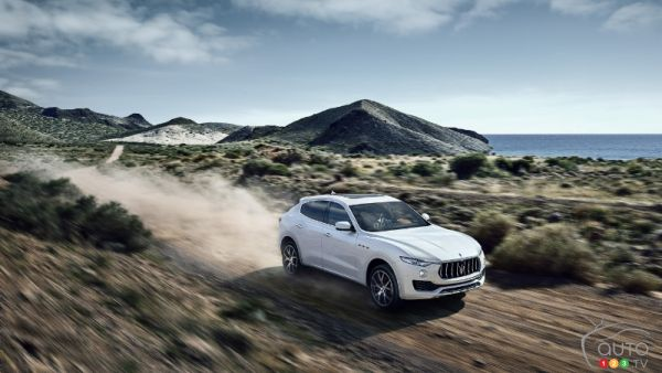 New Maserati Levante's stunning photoshoot