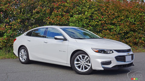 2016 Chevy Malibu Hybrid Review
