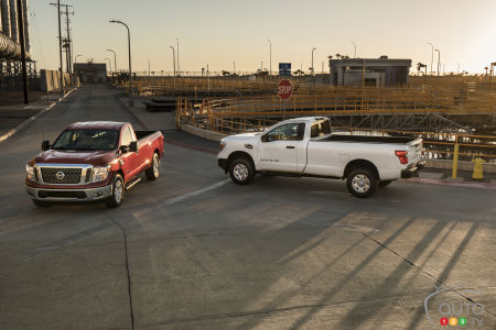 Une version à cabine simple pour le Nissan TITAN 2017