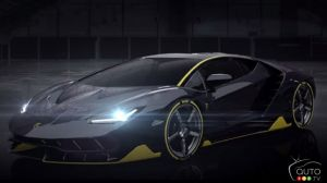 Watch Lamborghini Centenario's track testing video