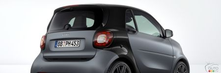 Des smart fortwo avec ensemble BRABUS Sport en option