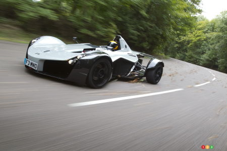 2016 BAC Mono single-seat supercar is a must-see