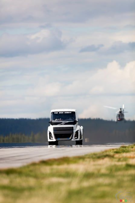 Video : Volvo Trucks – The Fastest Truck in the World