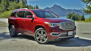 2010 gmc acadia specifications car specs auto123. Black Bedroom Furniture Sets. Home Design Ideas