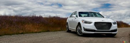 2017 Genesis G90 First Drive