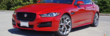 2017 Jaguar XE 35t R-Sport Review