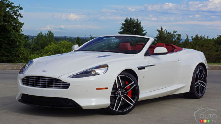 2016 Aston Martin DB9 GT Volante Review
