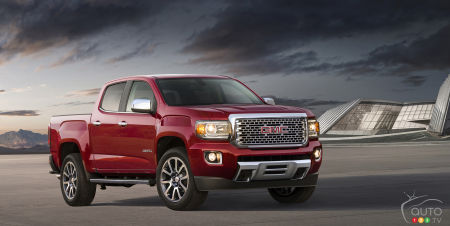 GMC Canyon lineup set to expand for 2017