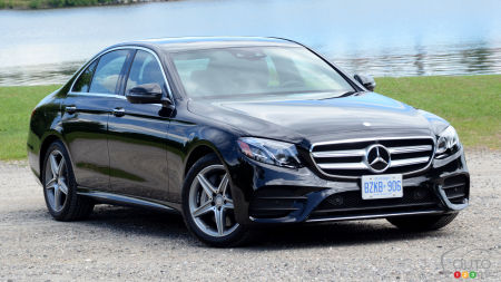 2017 Mercedes Benz E Cl 4matic First Drive