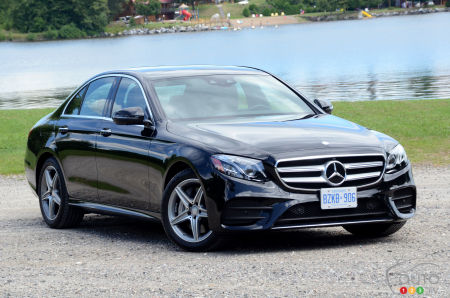 2017 Mercedes Benz E Cl 4matic First Drive Car Reviews