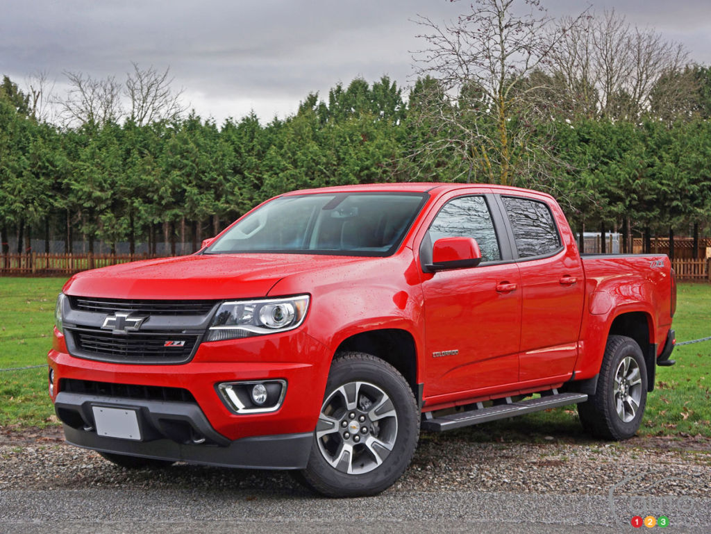 2016 Chevy Colorado Z71 Crew Cab 4wd Road Test Car Reviews Auto123