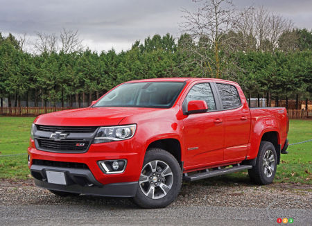 2016 Chevy Colorado Z71 Crew Cab 4WD Review