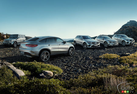 Mercedes-Benz has now sold 4 million SUVs globally