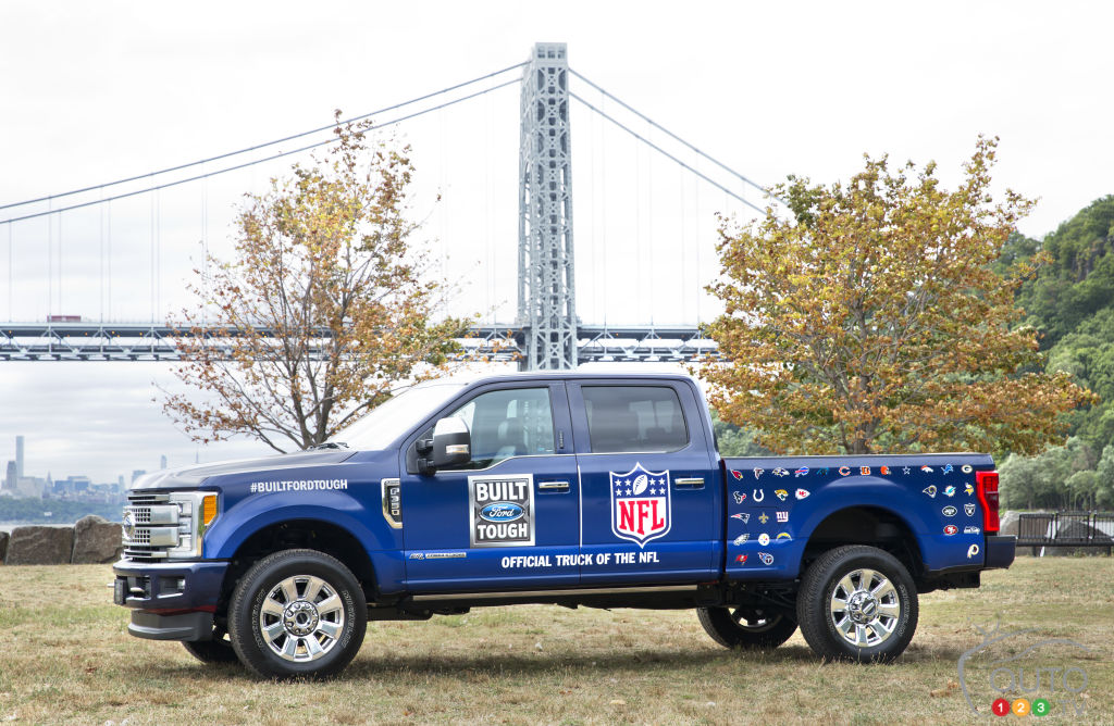 Ford F-Series is the new Official Truck of the NFL