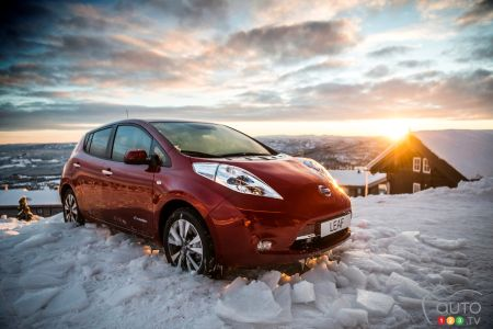 Hop in the Nissan LEAF for a tour of Europe