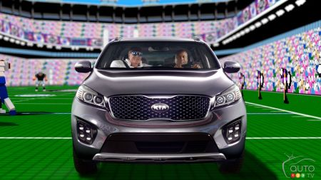 Kia Sorento is MVP of new football-inspired ads (video)