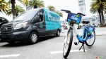 Ford launches GoBike, acquires Chariot shuttle service