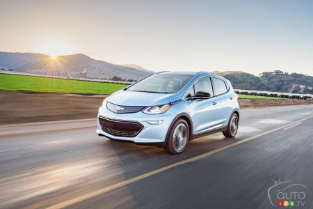 Chevy Bolt EV range increased to 383 km