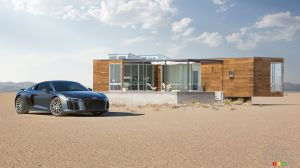 2017 Audi R8 partners with Airbnb and Emmy Awards