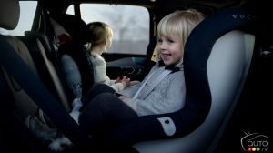 Volvo designs next-generation child seats for improved safety