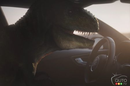 Audi resurrects T-Rex in viral ad