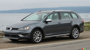 2017 VW Golf Sportwagon Alltrack prepared to wow Canadians