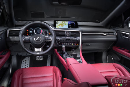 2016 Lexus RX rewarded for its user-friendly interior