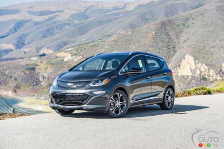 2017 Chevy Bolt EV to start at $42,795 in Canada