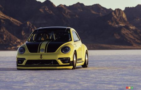 Volkswagen Beetle LSR sets new speed record