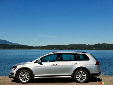 2017 Volkswagen Golf Alltrack First Drive