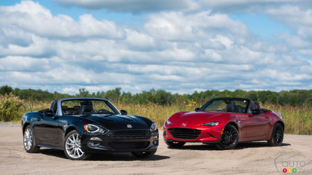2017 Fiat 124 Spider vs. 2016 Mazda MX-5 Sport