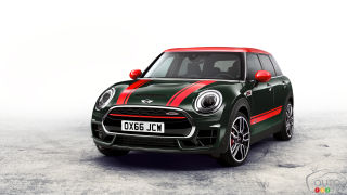 New MINI John Cooper Works Clubman ALL4 unveiled