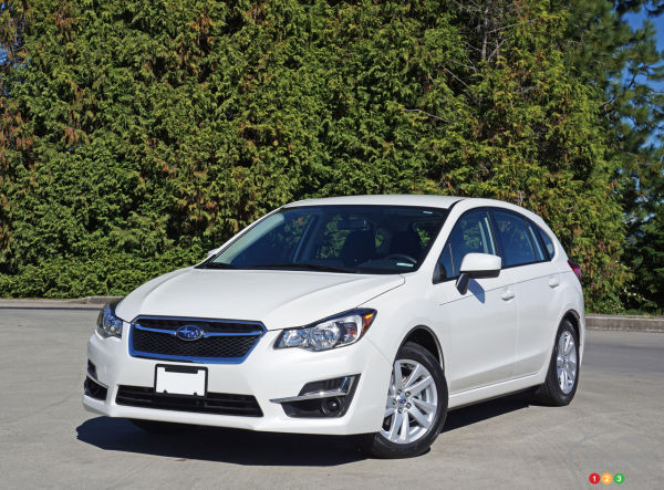 2016 Subaru Impreza 5-Door 2.0i Touring Review