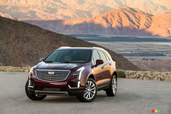 2017 Cadillac XT5: Top Safety Pick+ from the IIHS