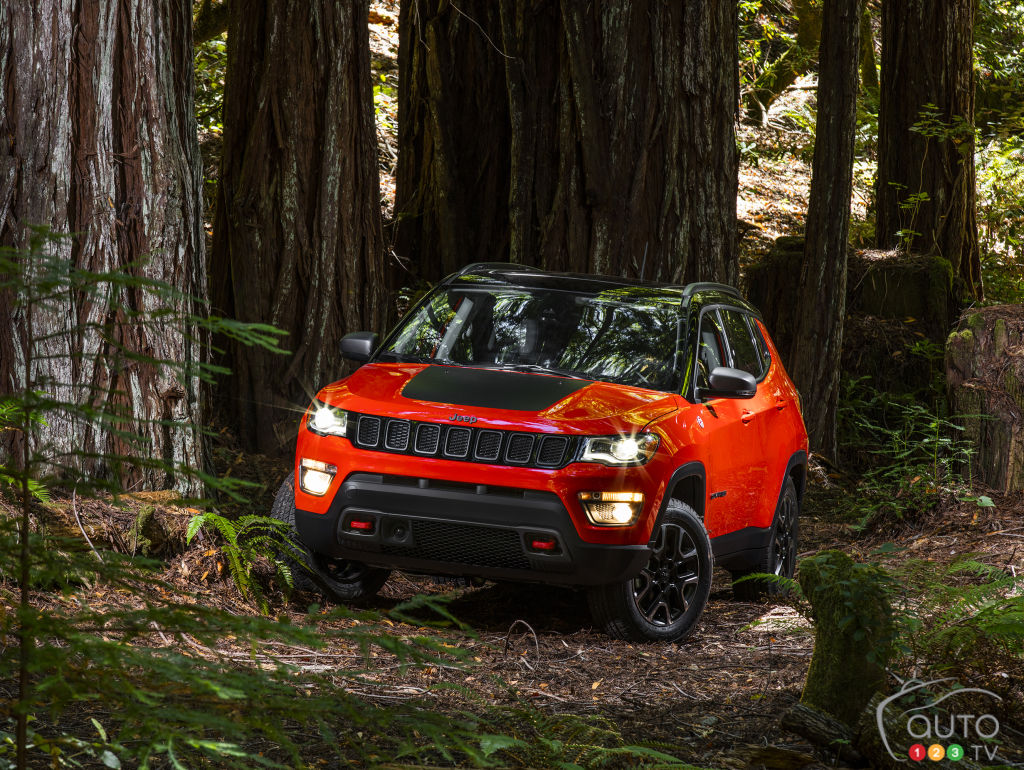 The redesigned Jeep Compass