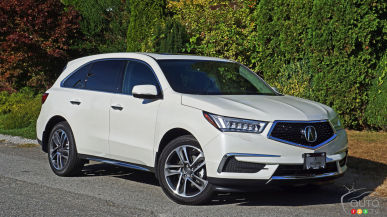2017 Acura MDX Navi Review