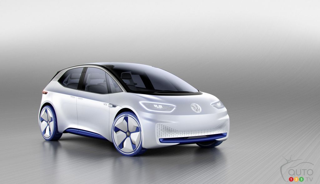 Paris 2016: VW electric car concept teased on the show's eve